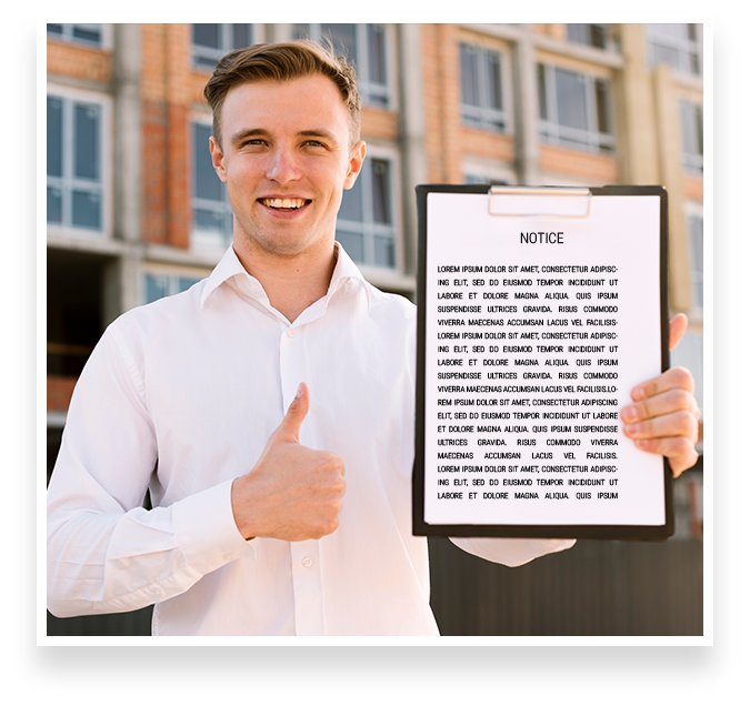 How to obtain an eviction notice
